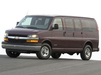 Коврики EVA Chevrolet Express II (1ряд) 2002 - наст. время