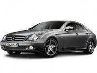 Коврики Eva Mercedes CLS-класс (W219) 2004 - 2010