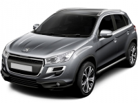 Коврики Eva Peugeot 4008 2012 - наст. время