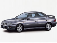 Коврики Eva Subaru Impreza I 1992 - 2000 (правый руль)