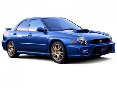 Коврики Eva Subaru Impreza II (правый руль) 2000 - 2007
