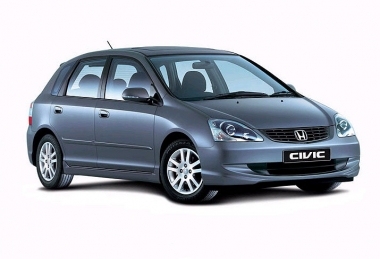Коврики Eva Honda Civic VII (хетчбек) 2001 - 2006