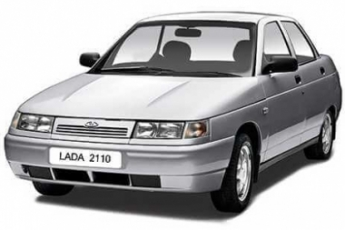Коврики EVA Lada 2110 (седан) 1996 - наст. время