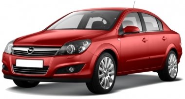 Коврики Eva Opel Astra H (седан) 2004 - 2012