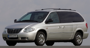 Коврики EVA Chrysler Voyager IV 2001 - 2004