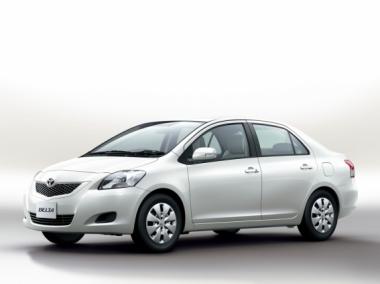 Коврики Eva Toyota Belta 2005-2012 (правый руль)