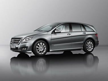 Коврики EVA Mercedes R - класс W251 long 6 мест 2012 - 2017