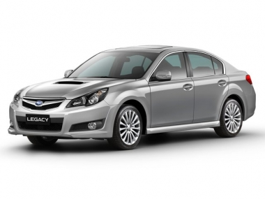 Коврики EVA Subaru Legacy V 2009 - 2014 правый руль