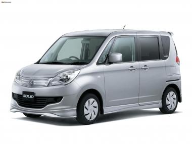 Коврики EVA Suzuki Solio II 2010-2015 (правый руль)