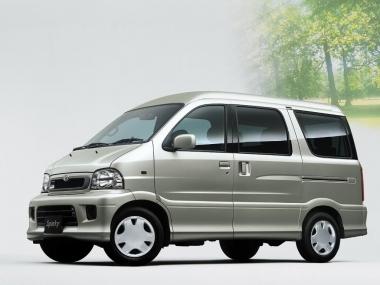 Коврики EVA Toyota Sparky 2000-2003 (правый руль)